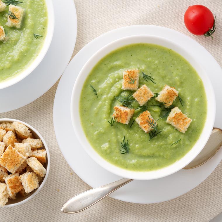 Aromatyczna zupa krem zbrokułów