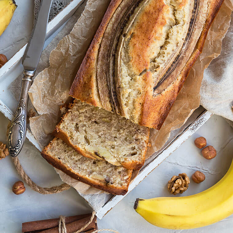 Chlebek/ ciasto bananowe