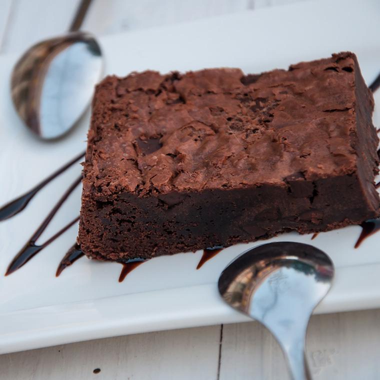 Odchudzone lekkie brownie – czekoladowo - pomarańczowa chwila zapomnienia