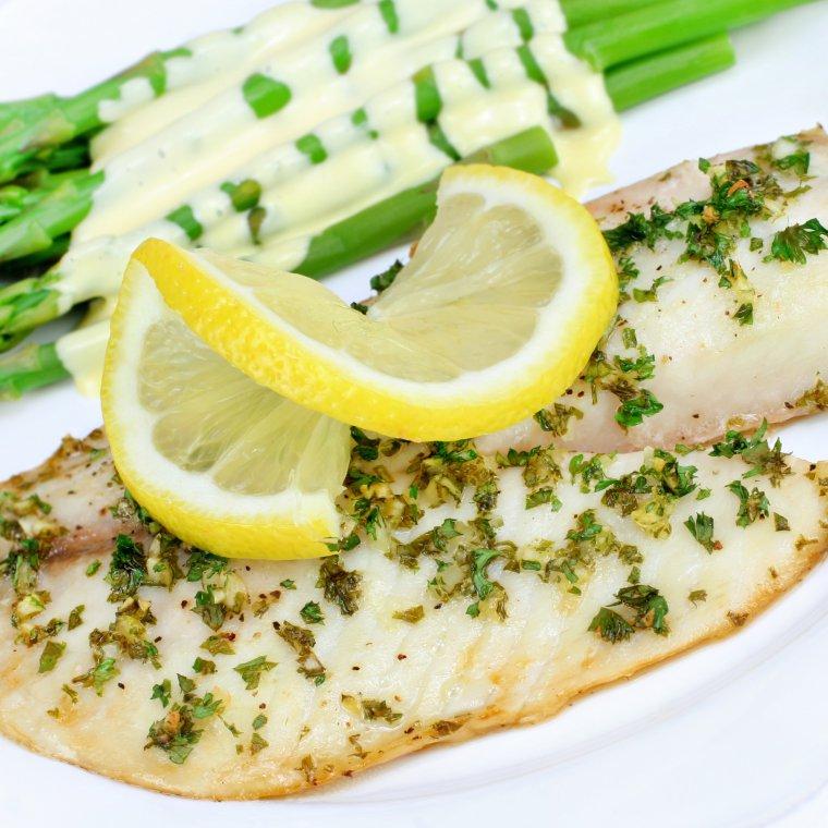 Pieczona ryba (dorsz)
