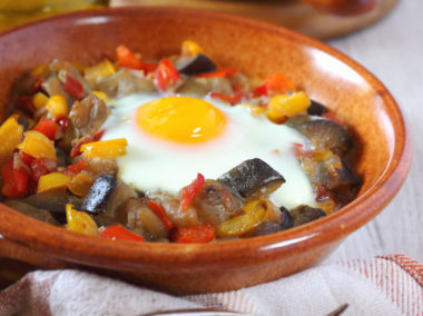 Ratatouille z jajkiem