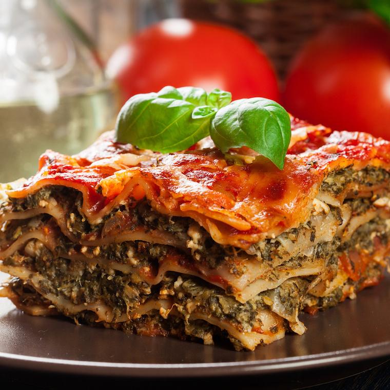 Przepis nazdrową lasagne
